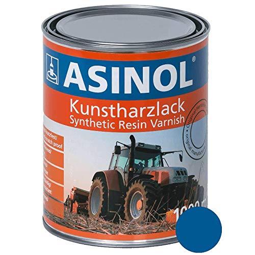 ASINOL NEW HOLLAND BLAU 1.000 ml Kunstharzlack Farbe Lack 1l Liter Dose