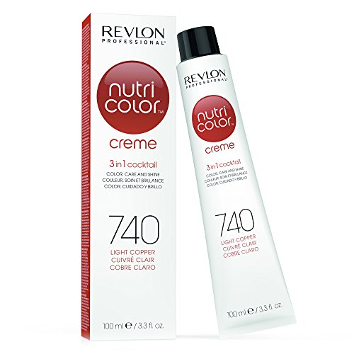 REVLON PROFESSIONAL Nutri Color Creme 740 Kupfer (100 ml)