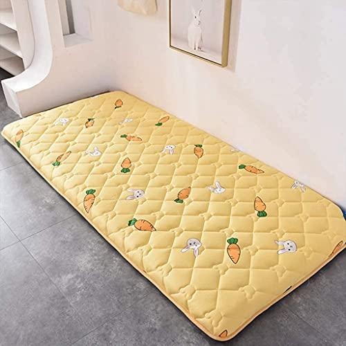 Colchones Colchón de colchón japonés, tamaño completo cama tradicional japonés futón colchones, espuma de memoria cama plegable cama plegable colchón, colchón de camping, esteras para dormir Textiles