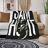 ELISE GILES Sam Hunt Blanket Super Soft Warm Cozy Lightweight Easy Care All Season Premium Air Conditioning Sofa Bed Blanket Three Sizes 50'X 40',60'X50',80'X60'Inch