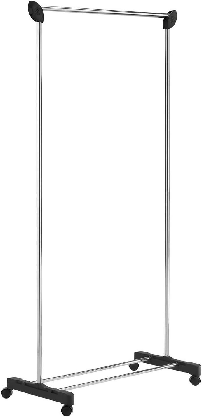 GLF Appendiabiti Appendiabiti Appendiabiti da Parete in Acciaio Inossidabile Cromato Appendiabiti Resistente Dimensioni: 45 cm 5 Ganci