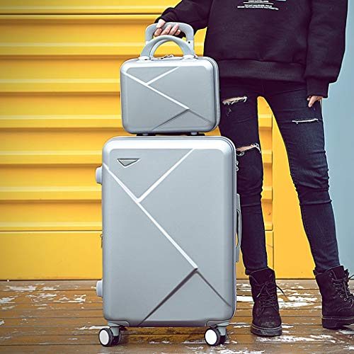 Koffer met wieltjes, hardshell bagage 2-delige set koffer spinner hardshell lichte reiskoffer bagagebox 20/22/24/26/28 inch