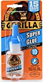 Gorilla Super Glue 15 Gram, Clear, (Pack of 1)