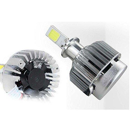 Boomboost 2 x 33 W 12 V LED 3000lm 6000 K Phare kit de conversion ampoule H1 Super Bright