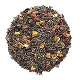 TÉ PU-EHR SABOR PIRULETA   Té Rojo Aromatizado con Cereza, Manzana, Naranja y Arándanos (100 GR)