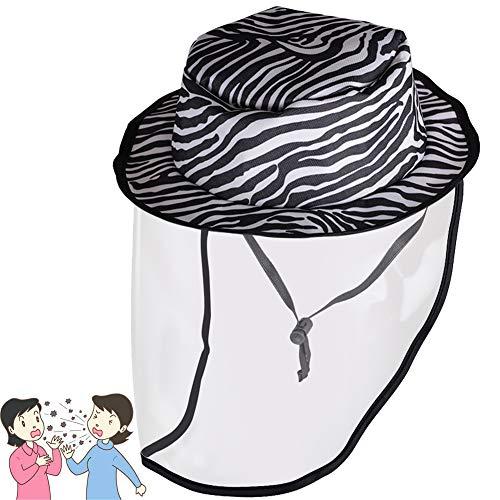 Dre-CHENZI Anti-Beschlag-Schutzkappe, Ölspritzer, Gesichtsschutz, Outdoor-Sonnenhut, waschbar