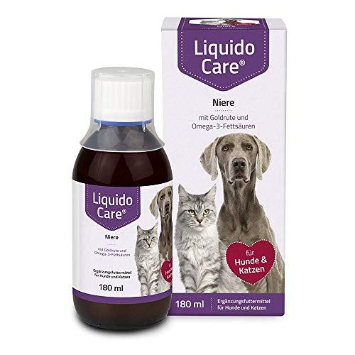 LiquidoCare Niere, 180 ml- Ergänzungsfuttermittel für Katzen zur zusätzlichen Zufuhr von essentiellen Nährstoffen und Flüssigkeit