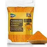 FYN Lakadong Turmeric / Haldi Powder (Upto 8% Curcumin ) 400g -