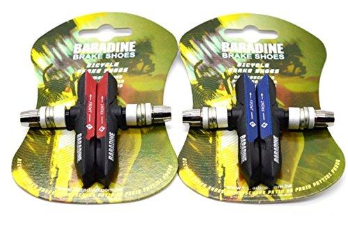 2 * Paire de vélo de montagne Vélo tous les temps VTT ATB V-Brake Pads/blocs