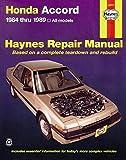 Honda Accord (84 - 89) (Haynes Manuals)