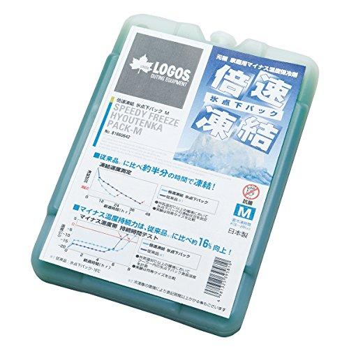 ロゴス(LOGOS)保冷剤倍速凍結長時間保冷氷点下パックM