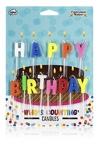 NPW Counting Candles, regular, Happy Birthday