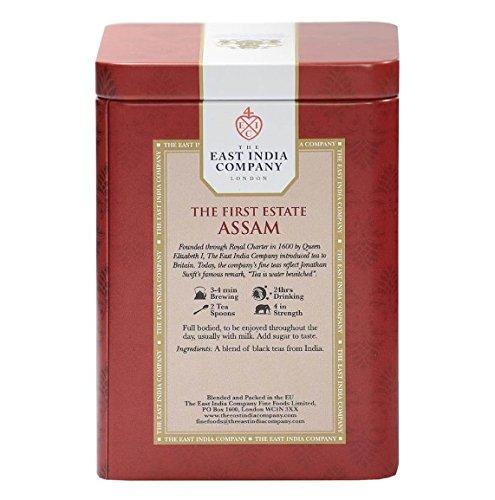 イーストインディアカンパニーUK東インド会社『ザ・ファースト・エステート・アッサム缶/リーフ』