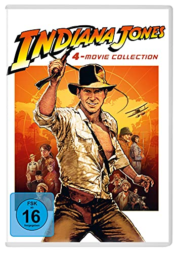 Indiana Jones - 4-Movie Collection [4 DVDs]