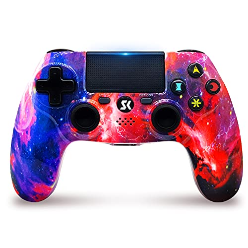 Controller for PS4 Wireless Controller Double Shock per PlayStation 4   Pro Slim (Galaxy)