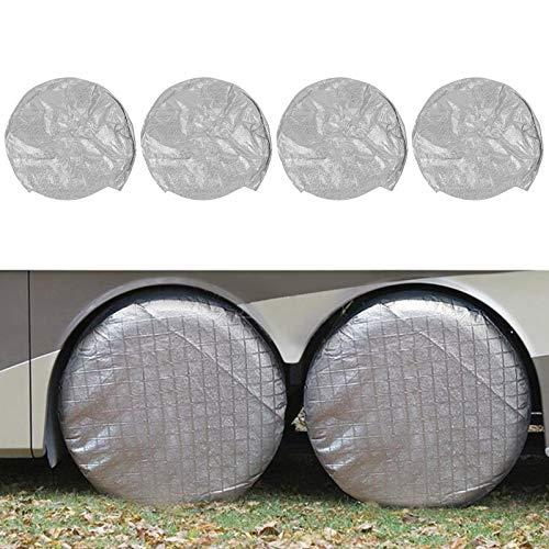 Cubierta para llantas resistente al desgaste para protección de llantas para vehículos recreativos, camionetas y vehículos recreativos(27-29 feet)