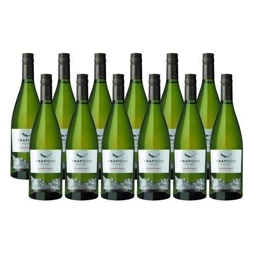 Trapiche Roble Chardonnay Oak Cask - Vino Blanco- 12 Botellas