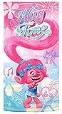 Disney- Trolls Serviette De Plage, TR17096, 140 x 70 Cm