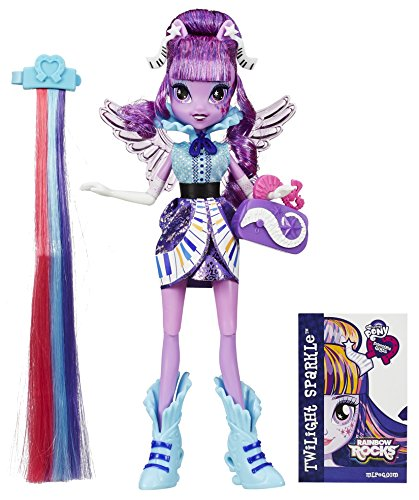 Hasbro My Little Pony Equestria Girls Rainbow Rocks Twilight Sparkle Rockin Coiffure
