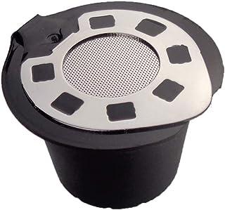Ocamo Filtro de café Reutilizable Tipo de Relleno de Carcasa de Metal Taza de Filtro para cafetera Nespresso