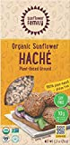 SunflowerFamily Organic Sunflower Haché, 2.7 Ounce, Plant Based Meat Substitute - Vegetarian, Vegan, Certified Organic, Sunflower Mince,