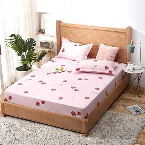 PENVEAT 1 stücke 100% Polyester Druck Bett matratze Set mit Vier Ecken und Gummiband blätter heißer, caomeipai, 150X200X25 cm