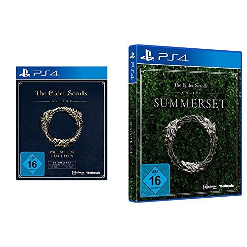 The Elder Scrolls Online: Premium Edition - Premium Edition [PS4] & The Elder Scrolls Online: Summerset [PlayStation 4]