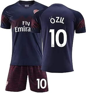 Mesut Ozil #10 Men's Away Soccer Jersey & Short Kit Navy