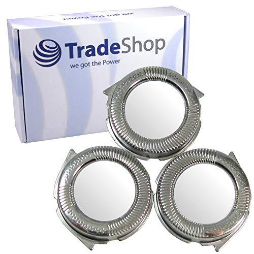 Trade-Shop 3x Ersatz für Scherkopf Philips S5320/06 S5335 S5340 S5340/06 S5351 S5355 S5370 S5380 S5390 S5395 S5400 S5400/06 S5420 S5420/06 S5500 S5510 S5520 Messer Klingen Rasierklinge 3er Set