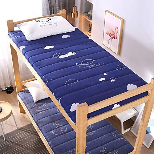 Tatami Mattress Sleeping Mat Multipurpose Folding Futon Mat Soft Japanese Thick for Student Dorm Mattress K 80x190cm (31x75inch)