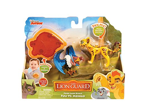 Just Play LG Rival Fuli vs Mzingo Figures with Arm Band (2 Pack)