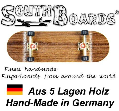 Unbekannt EDEL Fingerskateboard WENGE/GO/SWZ SOUTHBOARDS® Handmade Wood Fingerboard Echtholz