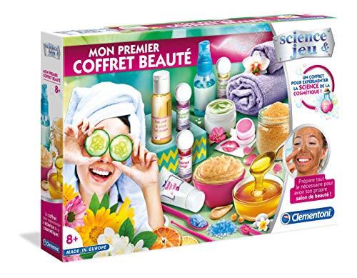 Clementoni- Science & Jeu-Mon Premier Coffret Beauté,...