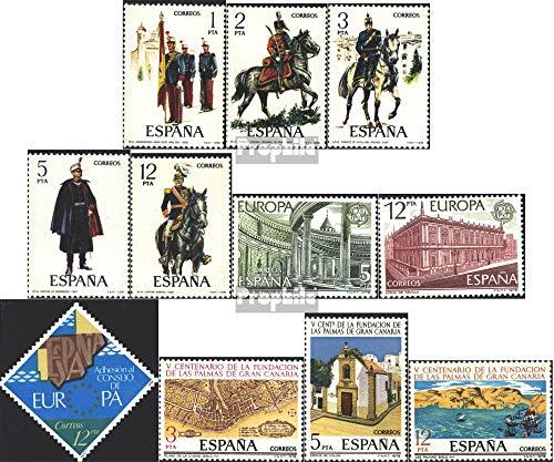 Espagne mer.-no.: 2343-2347,2366-2367, 2368,2369-2371 (complète.Edition.) 1978 Uniformes, €urope, lUns PUnlmUns u.Un. (Timbres pour Les collectionneurs) Uniformes / Costumes