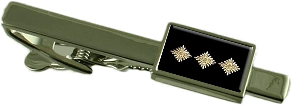 Select Gifts Police Chief Inspector Pips Tie Clip Pouch