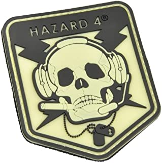 HAZARD 4 Operator Skull(TM) Rubber Patch (R)