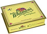Whitman's Sampler Assorted Chocolate 24 Ounce Box Whitman's Sampler Assortment Box; An Assortment of Nutty,...