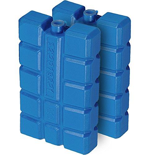 Deuba 2er Set Kühlakkus Kühlakku 200ml Kühlelement Kühlbox Kühltasche Eisbox Kühlpack
