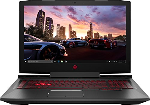 HP OMEN 17-an040ng 2.8GHz i7-7700HQ 17.3' 1920 x 1080Pixel Rosso, Nero Computer portatile
