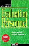 L'évaluation du personnel