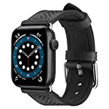 Spigen Retro Fit Designed for Apple Watch Band for 44mm/42mm Series 6/SE/5/4/3/2/1 - Black