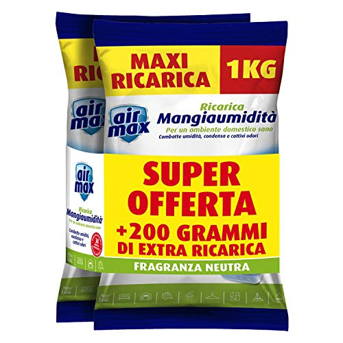 Air Max Ricarica Sali PROMO 1KG+1KG NEUTRA