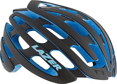Lazer Z1 Helmet: Matte Black with Blue EPS, SM by Lazer
