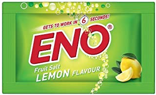 Eno Fruit Salt Lemon Herbs Flavor Relief From Acidity Problem 60pcsx5g Sachets by Eno