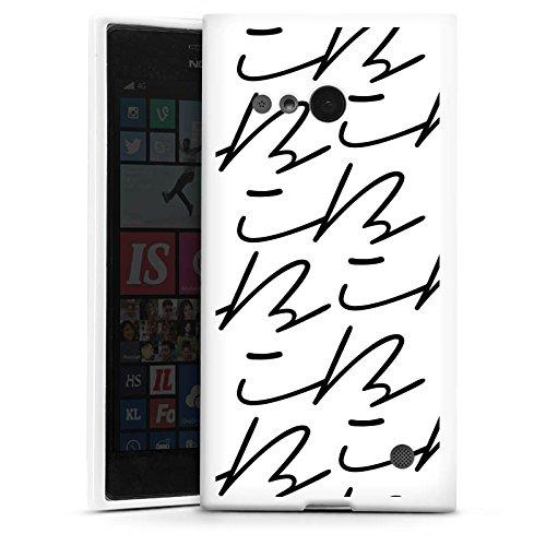 DeinDesign Silikon Hülle kompatibel mit Nokia Lumia 735 Hülle weiß Handyhülle iBlali Youtuber YouTube