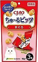 チャオ (CIAO) 猫用おやつ ちゅ~るビッツ まぐろ 12g×3個入