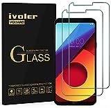ivoler [2 Unidades] Protector de Pantalla para LG Q6 / LG Q6+ / LG Q6 Plus, Cristal Vidrio Templado Premium