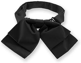 TieMart Black Floppy Bow Tie