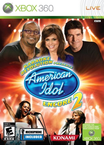 Karaoke Revolution: Presents American Idol Encore 2 with Microphone - Xbox 360