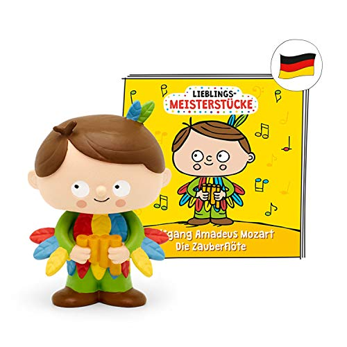tonies Hörfiguren für Toniebox - Lieblings-Meisterstücke -Wolfgang Amadeus Mozart Die Zauberflöte - ca. 44 Min. - Ab 5 Jahre -DEUTSCH